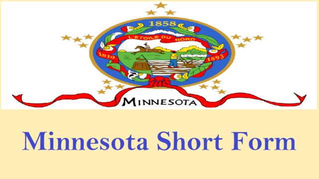 Minnesota Short Form