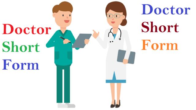 Doctor Short Form