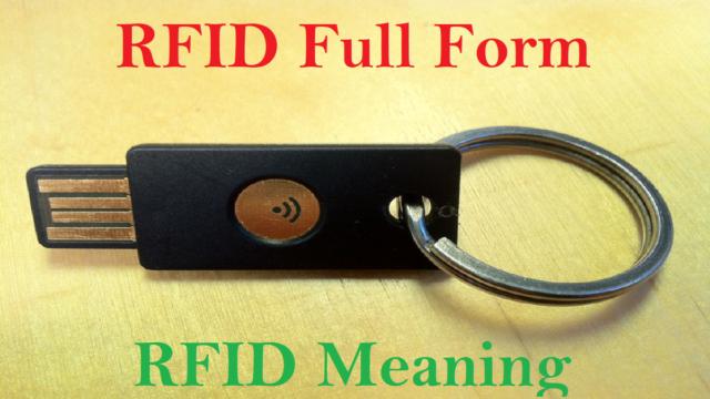 RFID Full Form