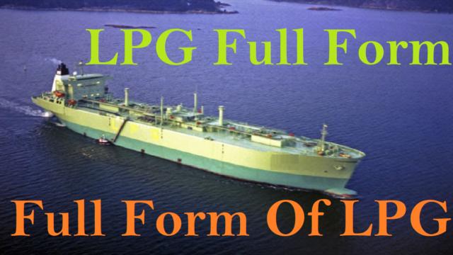 Full Form Of LPG