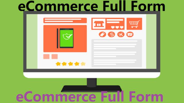 eCommerce Full Form