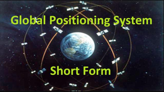 Global Positioning System Short Form