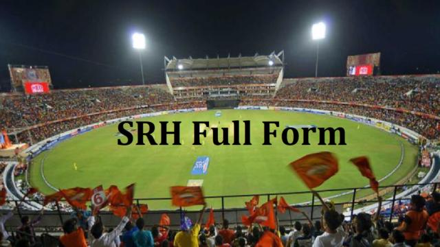 SRH Full Form